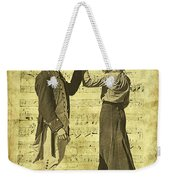 Dance The Minuet With Me Weekender Tote Bag