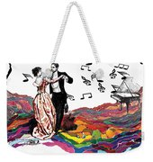 Dance Till The End Of Time Weekender Tote Bag