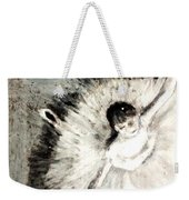 Dancer With A Bouquest Of Flowers By Edgard Degas Weekender Tote Bag