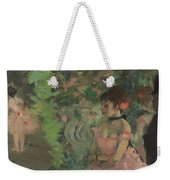 Dancers Backstage Weekender Tote Bag