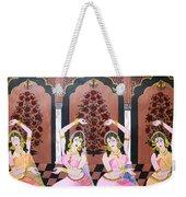 Dancers In Mughal Court Weekender Tote Bag