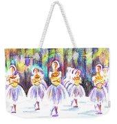 Dancers In The Forest II Weekender Tote Bag