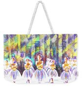 Dancers In The Forest Weekender Tote Bag by Kip DeVore