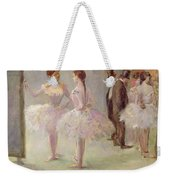 Dancers In The Wings At The Opera Weekender Tote Bag by Jean Louis Forain