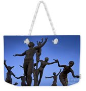 Dancing Figures Weekender Tote Bag by Brian Jannsen