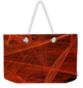 Dancing Flames 1 H - Panorama - Abstract - Fractal Art Weekender Tote Bag