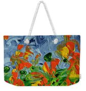 Dancing Flowers Weekender Tote Bag