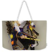 Pow Wow Dancing For The Spirit Weekender Tote Bag