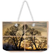 Dancing Forest Trees Picture Window Frame Photo Art View Weekender Tote Bag