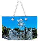 Dancing Fountain Weekender Tote Bag