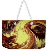 Dancing Headdress Abstract Weekender Tote Bag