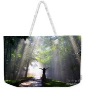 Dancing In God's Light Copyright Willadawn Photography Weekender Tote Bag