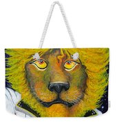 Dancing King Of The Serengeti Discotheque Weekender Tote Bag