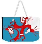 Dancing Kokopellis Weekender Tote Bag