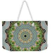 Dancing Mandevilla Blossom Kaleidoscope Weekender Tote Bag