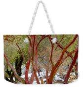 Dancing Manzanitas On The Hillside In Park Sierra-california Weekender Tote Bag