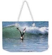 Dancing On The Waves Weekender Tote Bag