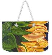 Dancing Sunflower Weekender Tote Bag