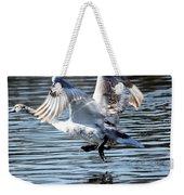 Dancing Swan Weekender Tote Bag