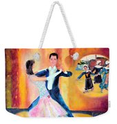 Dancing Through Time Weekender Tote Bag