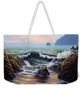 Dancing Tide Weekender Tote Bag