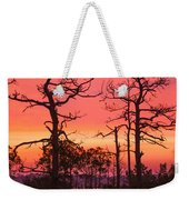 Dancing Trees Into The Fire Weekender Tote Bag