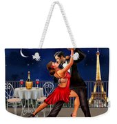 Dancing Under The Stars Weekender Tote Bag