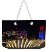 Dancing Waters 4 Weekender Tote Bag