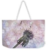 Dandelion Before Pretty Bokeh Weekender Tote Bag