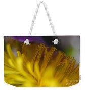 Dandelion Bloom Macro Weekender Tote Bag