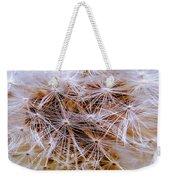 Dandelion Closeup Weekender Tote Bag