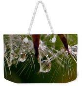 Dandelion Droplets Weekender Tote Bag