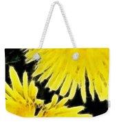 Dandelion Expressive Brushstrokes Weekender Tote Bag