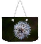 Dandelion In Green Weekender Tote Bag