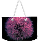 Dandelion Red Weekender Tote Bag