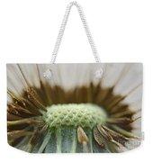 Dandelion Seed Macro Weekender Tote Bag