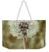 Dandelion Textures Weekender Tote Bag