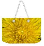Dandelion With Waterdrop Weekender Tote Bag
