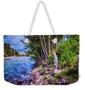 Dangerous Beauty Weekender Tote Bag by Omaste Witkowski