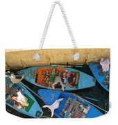 Dangerous Manouvers At The Nile River Canal Locks Weekender Tote Bag