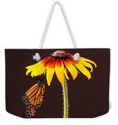 Dangling Monarch Weekender Tote Bag