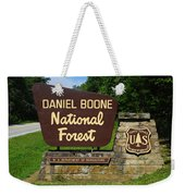 Daniel Boone Weekender Tote Bag by Frozen in Time Fine Art Photography