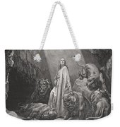 Daniel In The Den Of Lions Weekender Tote Bag