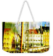 Danish Harbor Weekender Tote Bag