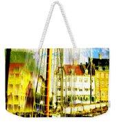 Danish Harbor Weekender Tote Bag