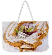 Danish Pastry Ring With Pecan Filling Weekender Tote Bag