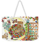 Dans Nos Vieilles Maisons / In Our Old Houses Weekender Tote Bag