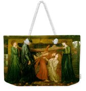 Dantes Dream At The Time Of The Death Of Beatrice 1856 Weekender Tote Bag