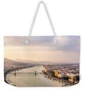 Danube Sunset Weekender Tote Bag