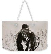 Dapper Weekender Tote Bag by Beverley Harper Tinsley